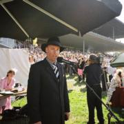 mc for the Air New Zealand Millennium Hotels Fashion in the Field at Riccarton Park during Christchurch Cup Week  © enthuse